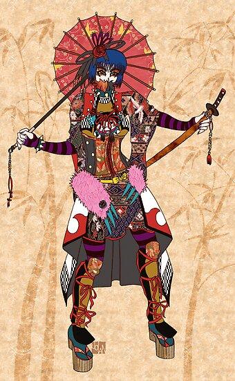 Takuya Angel Samurai by JoJoCSZ