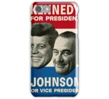Kennedy and Johnson iPhone Case/Skin