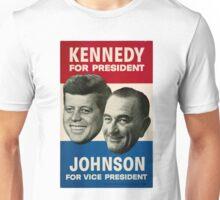 Kennedy and Johnson Unisex T-Shirt