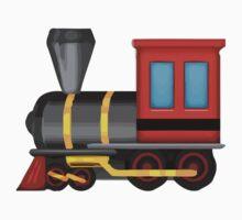 Steam Locomotive Apple / WhatsApp Emoji Kids Clothes