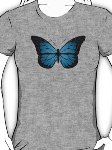Blue Monarch Butterfly T-Shirt