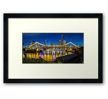 Story Bridge- Brisbane Queensland Framed Print