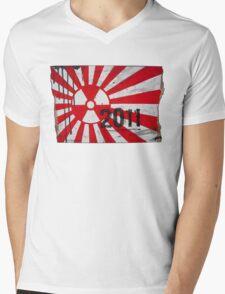 Japan 2011 Mens V-Neck T-Shirt