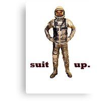 Space Suit Up Canvas Print