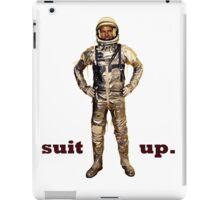 Space Suit Up iPad Case/Skin