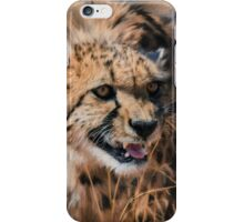 Growling Cheetah  iPhone Case/Skin