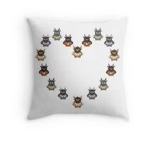 Boomkin Love Throw Pillow