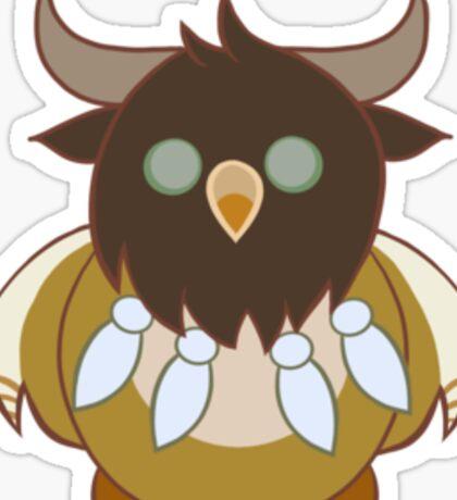 Tauren Boomkin Sticker