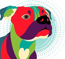 Bennie The Boxer Dog by Sharon Norman
