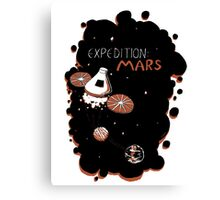 Expedition: Mars Canvas Print