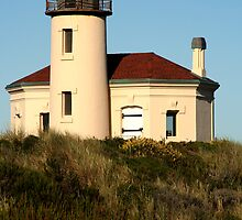 Coquille River Lighthouse by Randy Richards