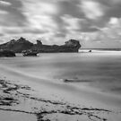Flotsam Beach by John Violet