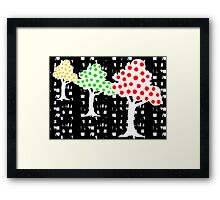 Happy Orchard Framed Print