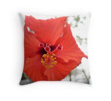 rad red Throw Pillow
