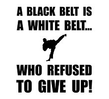 Black Belt Refusal by AmazingMart