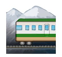 Mountain Railway Apple / WhatsApp Emoji by emoji