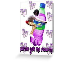 dirty sprite chief keef v2.0 Greeting Card