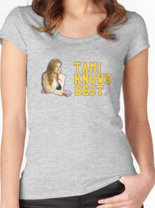 Tami Knows Best Women's Fitted Scoop T-Shirt