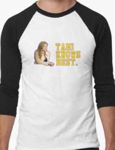 Tami Knows Best Men's Baseball ¾ T-Shirt