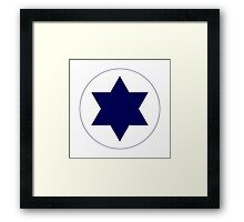 Israeli Air Force - Roundel Framed Print