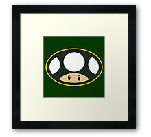Toad Town Mushrooms Framed Print
