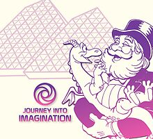 Journey into Imagination with Dreamfinder and Figment by Jou Ling Yee