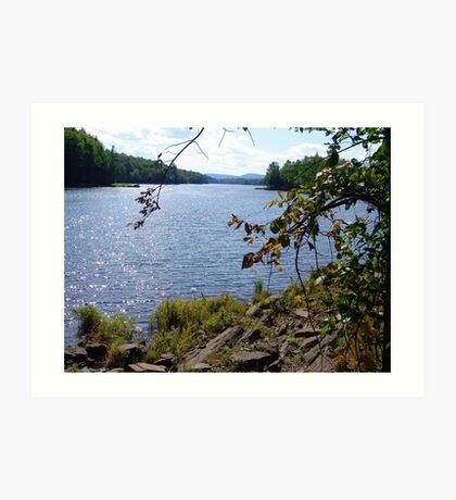 Madawaska River Art Print