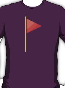 Triangular Flag On Post Apple / WhatsApp Emoji T-Shirt