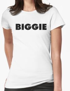 BIGGIE Womens Fitted T-Shirt