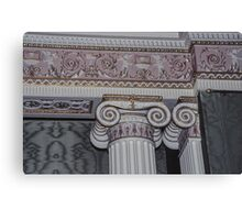 Wall capital in sideboard room Harewood House 1759 1771 West Yorkshire England 19840603 0015 Canvas Print