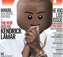 LEGO Vibe - Kendrick Lamar by OECKI