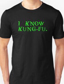 THE MATRIX: I know Kung-Fu T-Shirt