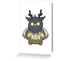 Worgen Boomkin Greeting Card