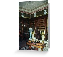 Library Harewood House 1759 1771 West Yorkshire England Elite 198406030019 Greeting Card