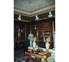 Library Harewood House 1759 1771 West Yorkshire England Elite 198406030019 Photographic Print