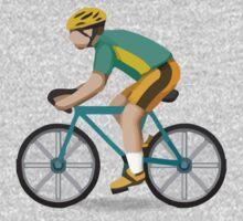Bicyclist Apple / WhatsApp Emoji Kids Clothes