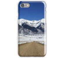 Sangre De Cristo Mountains, Colorado iPhone Case/Skin