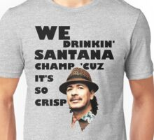 LONELY ISLAND - ON A BOAT - SANTANA CHAMP Unisex T-Shirt