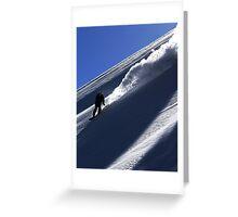 Mountain Shredder Greeting Card