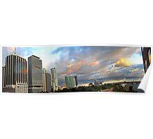 Skyline Panorama Poster