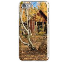 Old Cabin In The Aspens iPhone Case/Skin