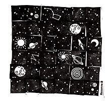 Handcut space ! by Roxanne Bee