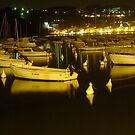 Lerici at night by sstarlightss