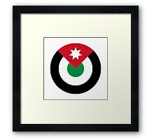 Royal Jordanian Air Force - Roundel Framed Print