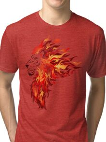 The heart of a Lion Tri-blend T-Shirt