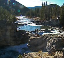 Elbow Falls III by Al Bourassa