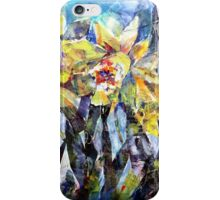 Daffodils - Flowers Art Gallery iPhone Case/Skin
