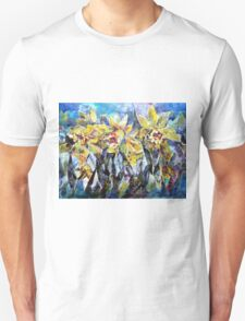Daffodils - Flowers Art Gallery T-Shirt