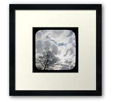Clouds TTV Framed Print