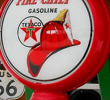 Americana Series:  Texaco  by Rebecca Bryson